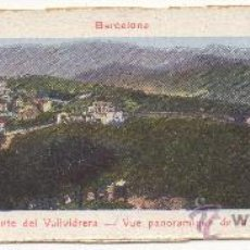 Postales: BARCELONA.- VISTA PANORÁMICA DEL MONTE DE VALLVIDRERA.. Lote 32786835