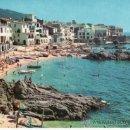 Postales: POSTAL FOTOGRÁFICA DE CALELLA DE PALAFRUGELL. VISTA DE LA PLAYA. GIRONA. CATALUÑA. ESPAÑA.. Lote 32796941