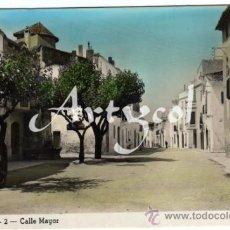 Postales: PRECIOSA POSTAL - CUBELLAS (BARCELON A) - CALLE MAYOR - E.M.. Lote 33137070