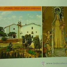 Postales: SANTUARI DELS ANGELS GIRONA VIRGEN. Lote 32844192