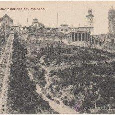 Postales: BARCELONA.- CUMBRE DEL TIBIDABO.. Lote 32846801