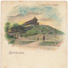 Postales: BARCELONA.- CHALET DEL TIBIDABO.. Lote 32881693