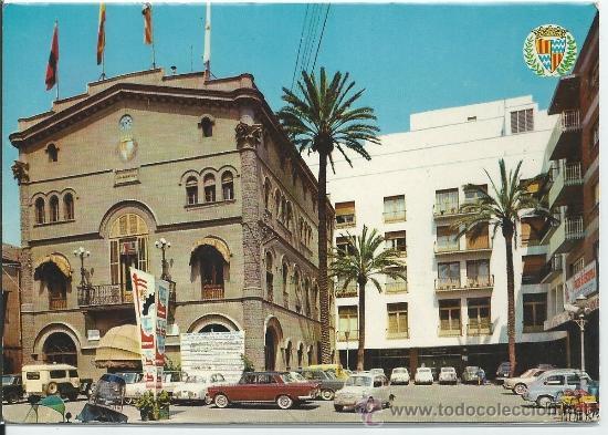 BADALONA.-PLAZA DE JOSE ANTONIO.-EDI.S.TERRADAS (Postales - España - Cataluña Moderna (desde 1940))