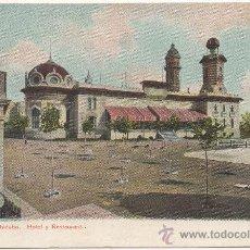 Postales: BARCELONA.- TIBIDABO. HOTEL Y RESTAURANT. (C.1905).- EDICIÓN DE AUTOCHROM LOUIS GLASER, LEIPZIG.. Lote 32883567