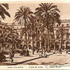 Postales: PLAZA DE MACIA ,BARCELONA. Lote 32920892