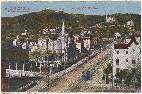 La avenida del Tibidabo