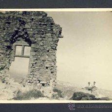 Postales: FOTO-POSTAL DE MATARO. CASTELL DE BURRIAC. 1932. VEURE FOTO ADICIONAL DEL DORS. Lote 32933316