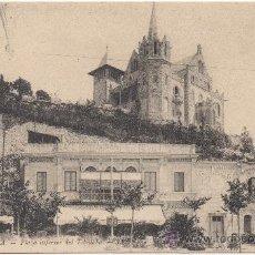 Postales: BARCELONA.- PLAZA INFERIOR DEL TIBIDABO.. Lote 32940073