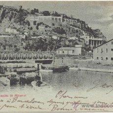 Postales: BARCELONA.- VISTA PANORÁMICA DE MIRAMAR. (C.1900).. Lote 32950494