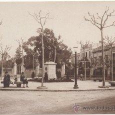 Postales: BARCELONA.- SARRIÁ: PLAZA DE GASPAR Y FERRERAS.. Lote 32965661