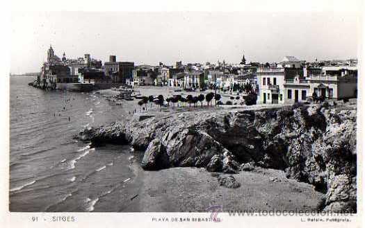 SITGES. NO CIRCULADA. (Postales - España - Cataluña Antigua (hasta 1939))