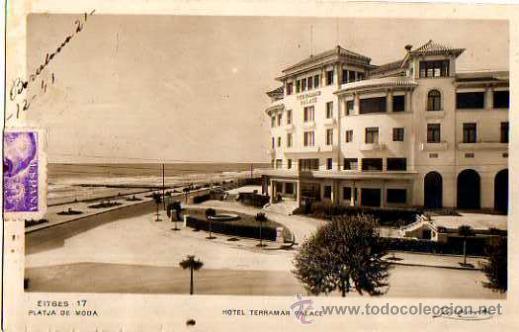 SITGES. CIRCULADA. (Postales - España - Cataluña Antigua (hasta 1939))