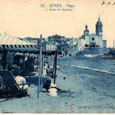 Postales: SITGES. CIRCULADA 1925. Lote 33004049
