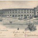 Postales: BARCELONA.- ARENAS DE BARCELONA. (C.1900).. Lote 33014720
