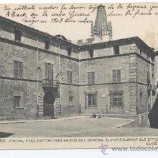 Postales - 34 GIRONÉS. GIRONA, CASA PASTOR (RESIDENCIA DEL GENERAL ÁLVAREZ DURANT ELS SITIS) JULI VINTRÓ - 33043091
