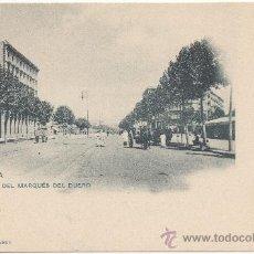 Postales: BARCELONA.- CALLE DEL MARQUÉS DEL DUERO.. Lote 33110677