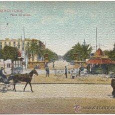 Postales: BARCELONA.- PASEO DE COLÓN. (1908).- EDICIÓN DR. TRENKLER CO., LEIPZIG. BCA. 57.. Lote 33126846