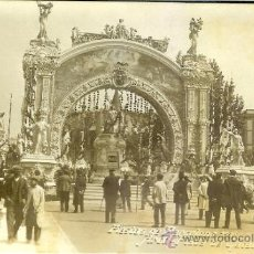 Postales: PS4324 BARCELONA 'FIESTAS DE BARCELONA 1910 - ARCO - PLAZA DE CATALUÑA'. FOTOGRÁFICA. BELTRÁ.. Lote 33233997