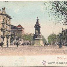 Postales: BARCELONA.- CALLE DE LAS CORTES. (C.1900).. Lote 33202637