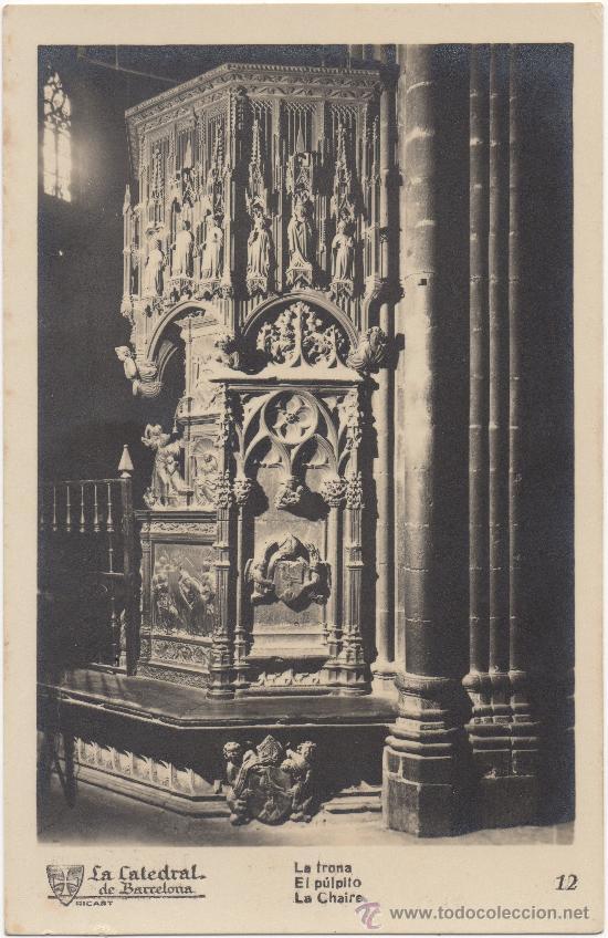 Púlpito de la catedral de Barcelona