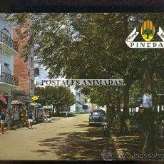 Postales: (07085) PINEDA DE MAR - VISTA DEL PASEO DE LAS MELIAS 1965 - Nº1038 - COCHE. Lote 33247771
