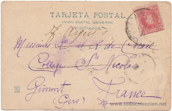 Postales: BARCELONA.- ESTACIÓN DEL FUNICULAR ``TIBIDABO´´. (C.1905). - Foto 2 - 33289853
