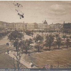 Postales: BARCELONA.- PLAZA DE CATALUÑA. (C.1910).. Lote 33313872
