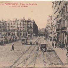 Postales: BARCELONA.- PLAZA DE CATALUÑA.- EDICIÓN L. ROISIN, FOTÓGRAFO, NÚM. 13.. Lote 33314077