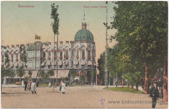 BARCELONA.- GRAN HOTEL COLÓN. (Postales - España - Cataluña Antigua (hasta 1939))