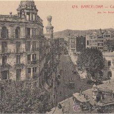 Postales: BARCELONA.- CALLE PELAYO.- EDICIÓN L. ROISIN, FOTÓGRAFO, NÚM. 176.. Lote 33331103