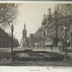 Postales: BARCELONA CALLE CORTES SIN ESCRIBIR. Lote 33335632