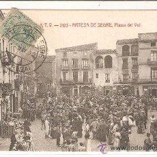 Postales: POSTAL A.T.V. ARTESA DE SEGRE PLASSA DEL VALL . Lote 33347108