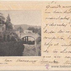 Postales: BARCELONA.- SARRIÁ. (C.1900).. Lote 33357319