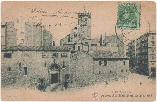 BARCELONA.- SAN PEDRO DE LAS PUELLAS. (C.1905). (Postales - España - Cataluña Antigua (hasta 1939))