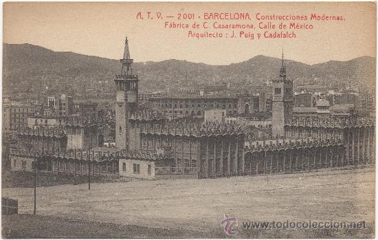 Barcelona construcciones modernas f brica cas vendido for Construcciones modernas