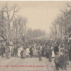 Postales: BARCELONA.- RAMBLA DE CANALETAS.- A.T.V. - 196, EDICIÓN DE ÁNGEL TOLDRÁ VIAZO.. Lote 33377711