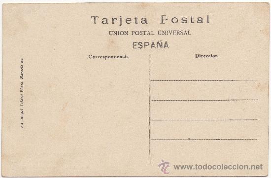 Postales: BARCELONA.- CALLE DEL MARQUÉS DEL DUERO Á VISTA DE PÁJARO (PARALELO). - Foto 2 - 33379131