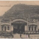 Postales: BARCELONA.- MUELLE Y CASTILLO DE MONTJUICH. (C.1920).. Lote 33379295