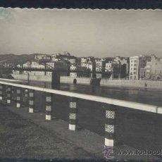 Postales: TORTOSA (TARRAGONA).- RIO EBRO Y VISTA PARCIAL. Lote 33379644