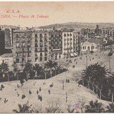 Postales: BARCELONA.- PLAZA DE TETUÁN.. Lote 33437290