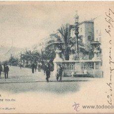 Postales: BARCELONA.- PASEO DE COLÓN. (C.1900).. Lote 33552716