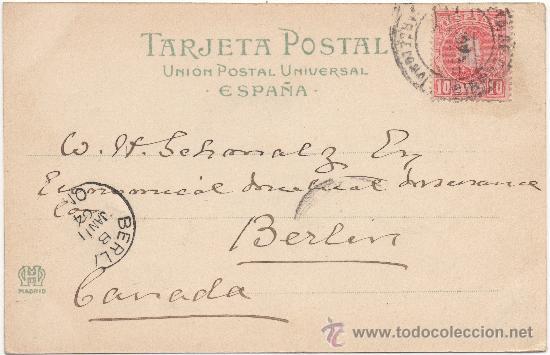 Postales: BARCELONA.- PASEO DE COLÓN. (C.1900). - Foto 2 - 33552716