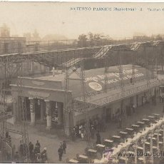 Postales: BARCELONA.- SATURNO PARQUE. TEATRO CINE. (C.1910).. Lote 33556315