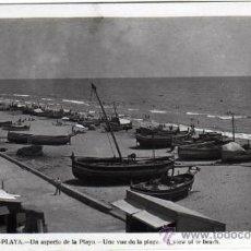 Postales: BONITA POSTAL - CALAFELL (TARRAGONA) - UN ASPECTO DE LA PLAYA - BARCAS - FOTO RAYMOND. Lote 33561642