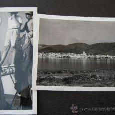 Postales: 1955. PORT DE LA SELVA GIRONA 2 FOTOS. Lote 33565291