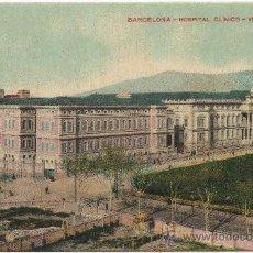 Postales: BARCELONA.- HOSPITAL CLÍNICO. VISTA GENERAL.. Lote 33588103