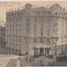 Postales: BARCELONA.- HOTEL RITZ.. Lote 33590941