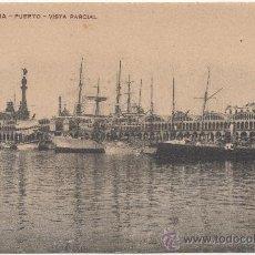 Postales: BARCELONA.- PUERTO. VISTA PARCIAL.. Lote 33659482