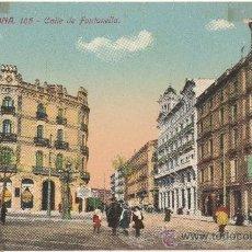Postales: BARCELONA.- CALLE DE FONTANELLA.. Lote 33675972