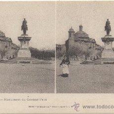 Postales: BARCELONNE.- MONUMENT DU GÉNÉRAL PRIM.- BARCELONA.. Lote 33684147